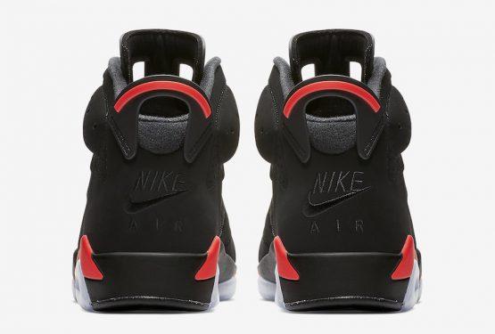 比較MOVIE★2月16日発売★ NIKE Air Jordan 6 Black/Infrared  384664-060 (ナイキ エアジョーダン 6 ブラック×インフラレッド)